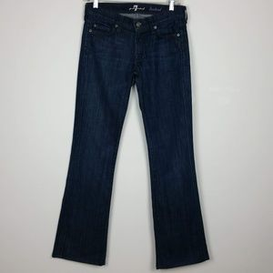 7 FOR ALL MANKIND Bootcut Darker Jean Size 27